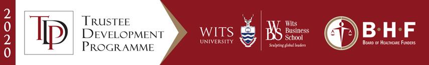 BHF Wits Business School 2020 Trustee Development Programme